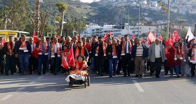 Cumhur İttifakı'ndan 'Zafer Yürüyüşü'
