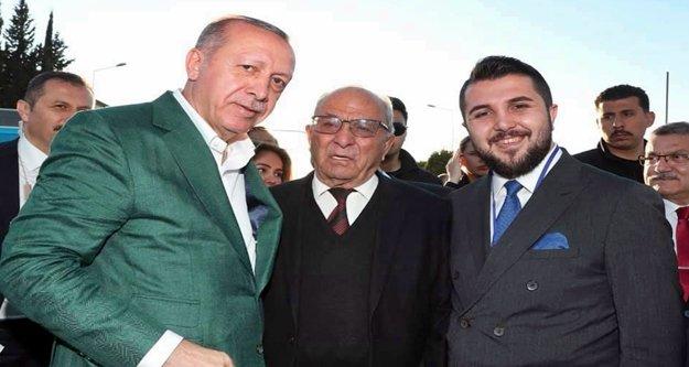 Erdoğan'dan baba Çavuşoğlu'na yakın ilgi