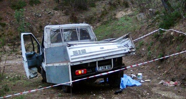 Korkunç kazada 1 kişi öldü!