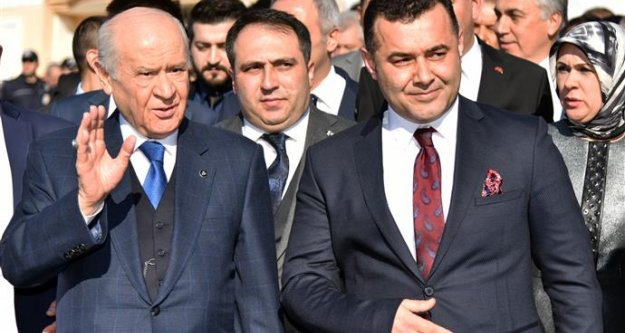 MHP liderini Başkan Yücel karşıladı
