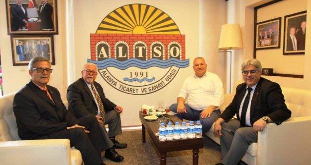 Vatan Partisi Alanya'da ALTSO ziyareti