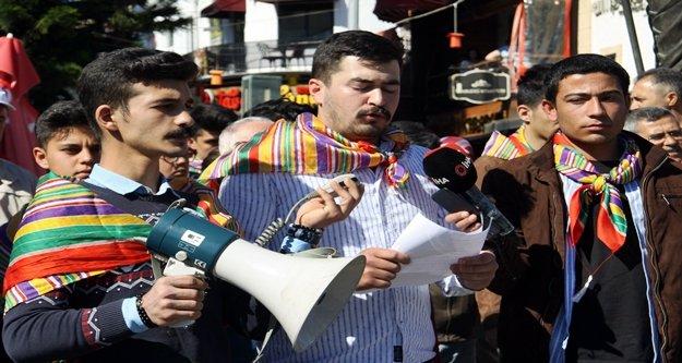 Yörük Gençliği Platformu'nda CHP protestosu