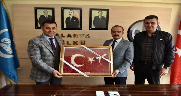 Yücel ve Tükdoğan'dan ocak başkanına hayırlı olsun ziyareti