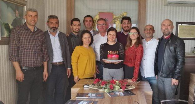 AGC Başkanı Coşkun'a sürpriz