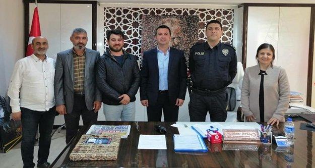 AGC'den polise kutlama ziyareti