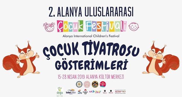 Alanya'da Çocuk Festivali