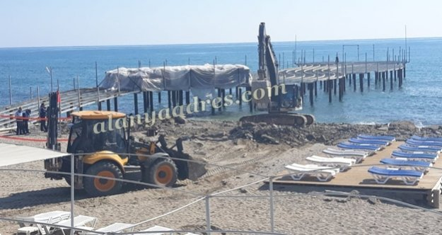 Alanya'da plajda betonlu katliama belediye dur dedi