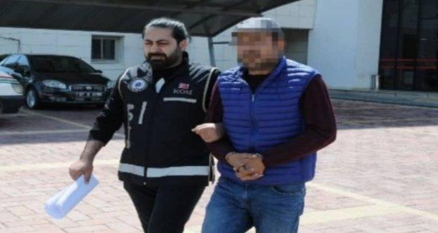 Alanya'da silah tüccarı firari sahte kimlikle yakalandı