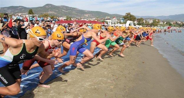 Alanya'da Triathlon rüzgarı esecek