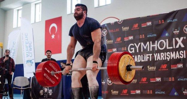 Alanya'daki şampiyonada yarışacak tek Türk sporcu