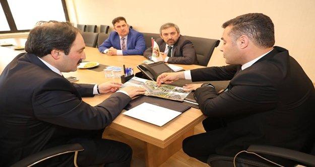 Alanya Müftüsü İlhan'dan Başkan Yücel'e ziyaret