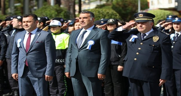 Alanya'da 'Polis Günü' kutlandı