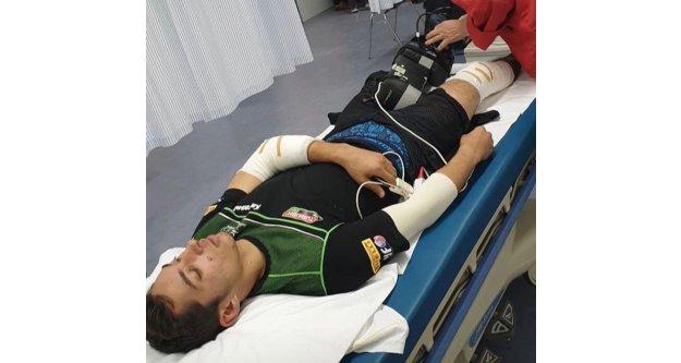 Alanyalı Toprak Razgatlıoğlu'ndan korkutan kaza