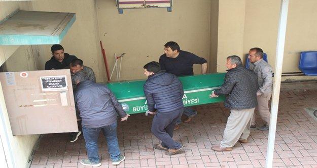 Av kazasında ölen adamın cenazesi morgdan alındı
