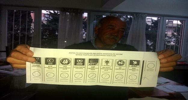 Sandıktan 'Beşiktaş' çıktı