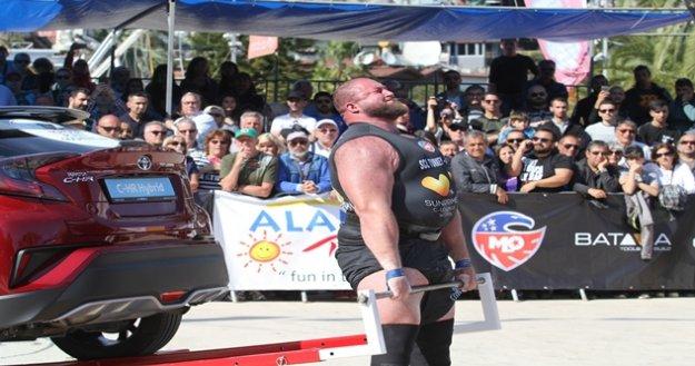 Strangman Alanya şampiyonu Travis Ortmayer oldu