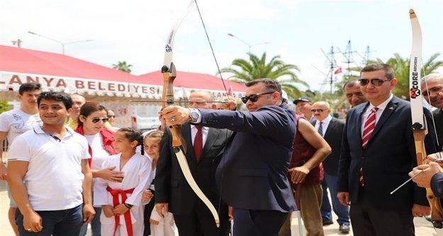 19 Mayıs Alanya'da coşkuyla kutlanıyor