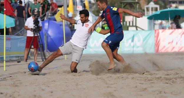 Alanya Belediyespor Plaj Futbol Takımı Avrupa Şampiyon Kulüpler Kupası'nda