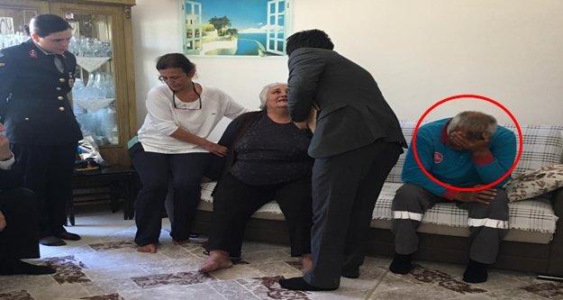 Alanya'da şehit evinde acı tesadüf