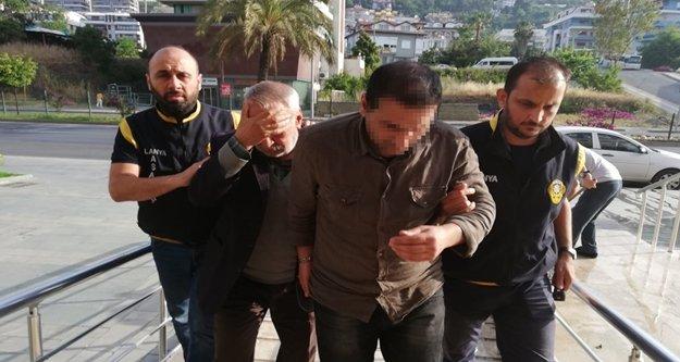 Alanya'da 1 milyon liralık soygun yapan kuyumcu çetesi çökertildi