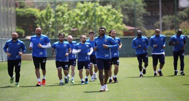 Alanyaspor'da Beşiktaş mesaisi başladı