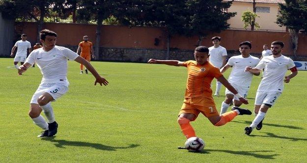 Alanyaspor U21 Takımı'nın yıldızı gol krallığına oynuyor