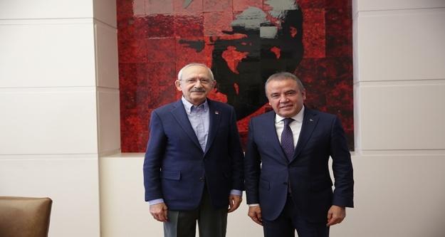 Böcek'ten Kılıçdaroğlu ve Akşener'e ziyaret