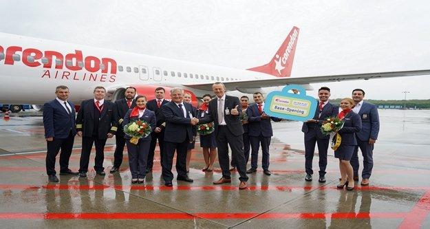 Corendon Airlines Köln'den sezonun ilk uçuşunu gerçekleştirdi