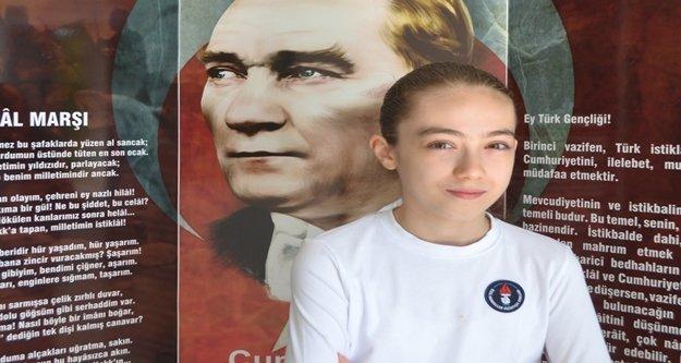 Derin, Alanya'ya Türkiye birinciliği getirdi
