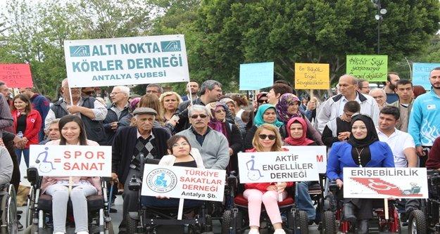 Engelleliler erişebilmek istiyor