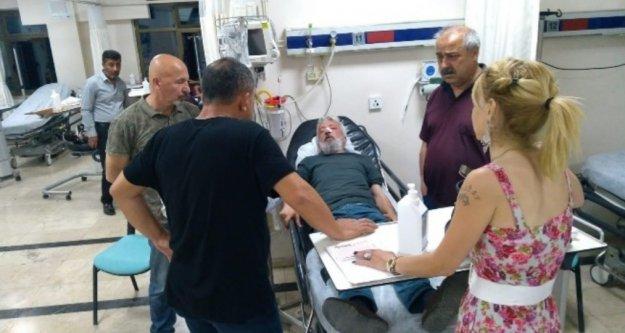 Gazeteciye iş çıkışı çirkin saldırı