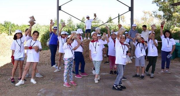 'Lider Çocuk Tarım Kampı' 2. gününde