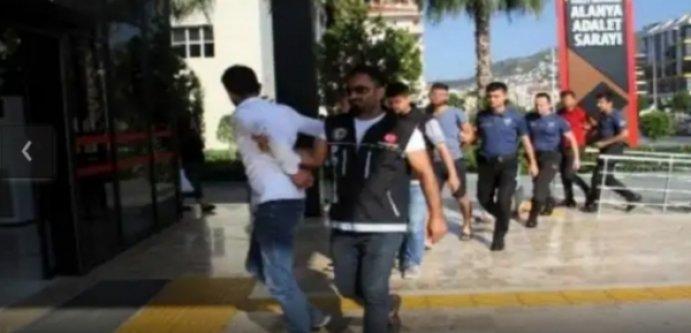Alanya'daki dev operasyonda 11 tutuklama çıktı