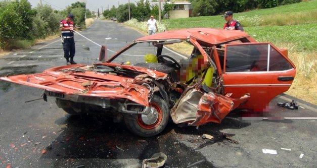 Alanya yolunda feci kaza: 1 ölü, 3 yaralı var