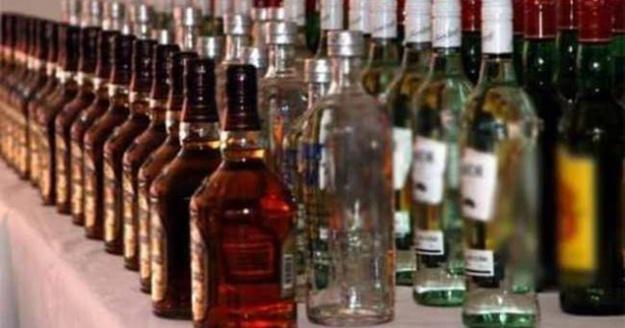 Alanya'da bin 100 litre kaçak içki ele geçirildi