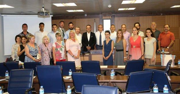 ALTSO  Rus misafirleri ağırladı