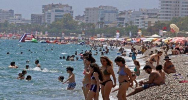 Antalya bayramda ne kadar turist ağırladı?