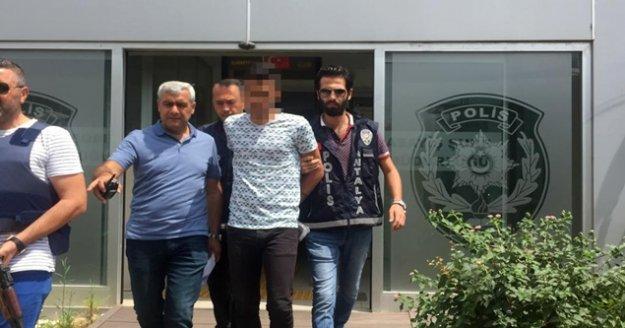 Antalya'da 2 kişiyi yaralayan şüpheli yakalandı