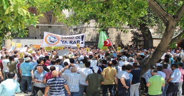 Antalya'da Mursi için gıyabi cenaze namazı kılındı