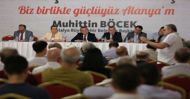 """Başkan Böcek 'Turizm birliği kuracağız"""""""