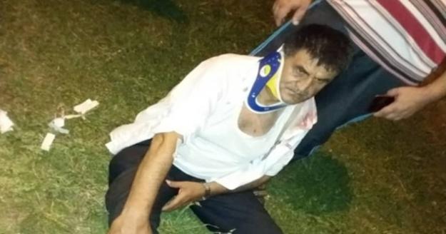 BBP İlçe Başkanı Fevzi Yıldırım trafik kazası geçirdi
