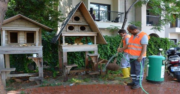 Büyükşehir'den Alanya'da genel temizlik