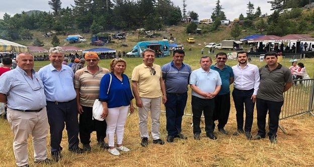 CHP'liler Lale Şenliği'nde