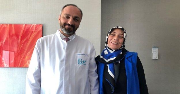 Dünya çapındaki ameliyat Türkiye'de yapıldı