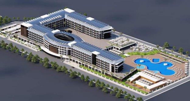 İşte Gazipaşa'nın ilk 5 yıldızlı oteli