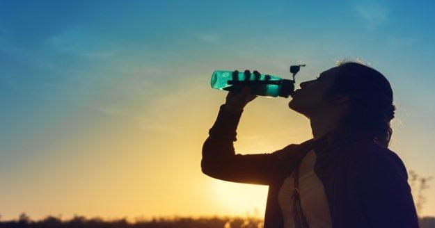 """'Su içmek için susamayı beklemeyin"""""""