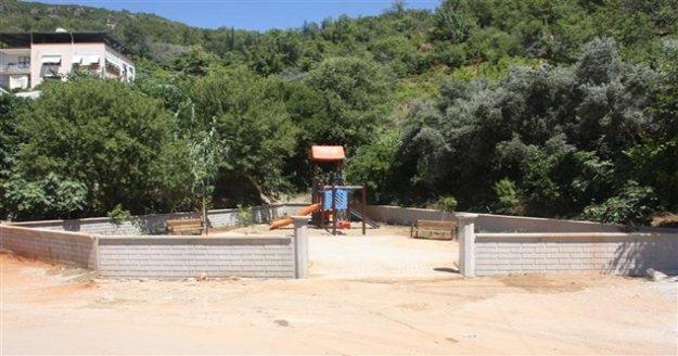 Alanya Belediyesi'nden Küçükhasbahçe mahallesine park