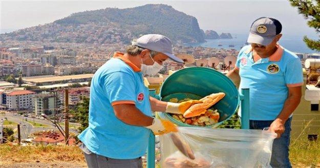 Alanya Belediyesi vatandaşın ekmeğini değerlendiriyor