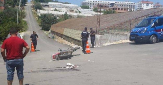 Alanya'da feci kaza: 1 ağır yaralı var