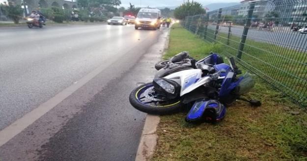 Alanya'da feci kaza! 1 ölü, 1 ağır yaralı var
